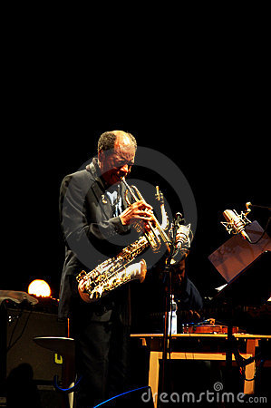 Ornette Coleman Editorial Stock Photo