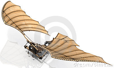 Ornithopter Flying Machine  Leonardo Da Vinci