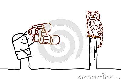Ornitologist & Owl
