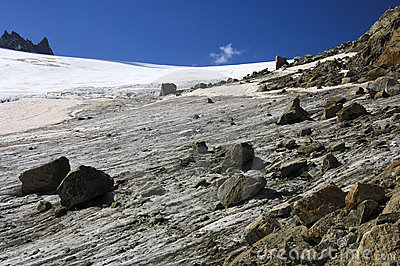 Orny glacier, Pennine Alps, Switzerland