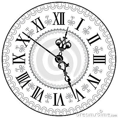 orologio antico fotografie stock immagine 24794663