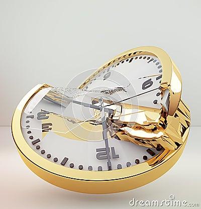 orologio rotto