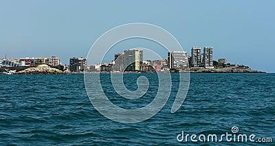 Oropesa coast line