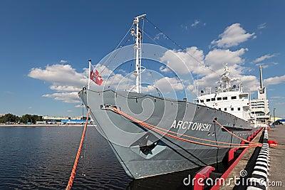 ORP Arctowski Editorial Stock Photo