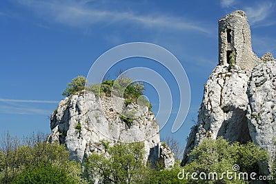 Orphaned castle