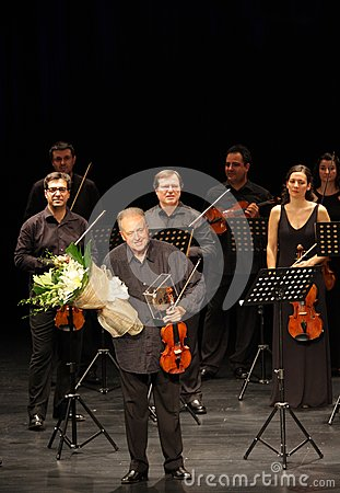Orquesta De Camara Reina Sofia performs at Bahrain Editorial Stock Photo