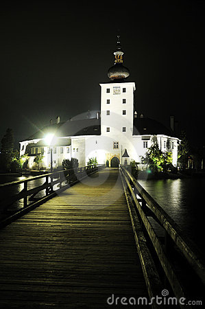 Ort Castle at Night