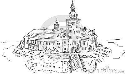 Ort lake castle