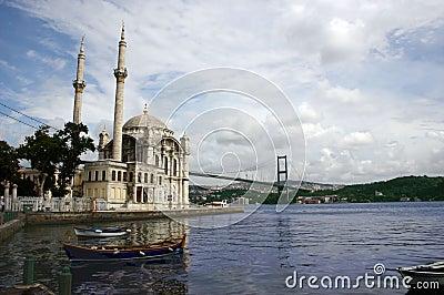 Ortakoy的伊斯坦布尔
