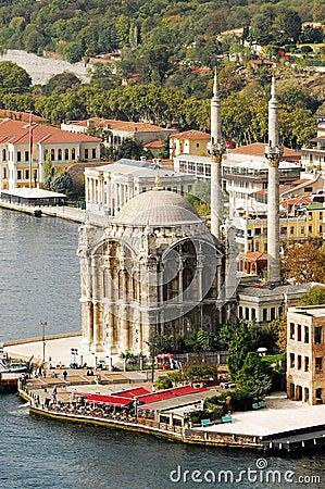 Ortakoy Mosque - bosporus - istanbul