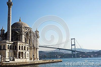 Ortakoy Mosque, Istanbul, Turkey