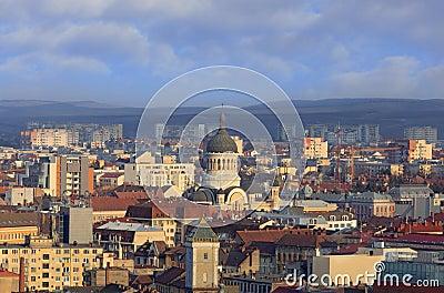 The Orthodox Cathedral Cluj Napoca,Romania