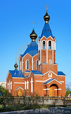 Orthodox Cathedral in Komsomolsk-on-Amur