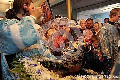 Orthodox  celebrations Editorial Stock Image