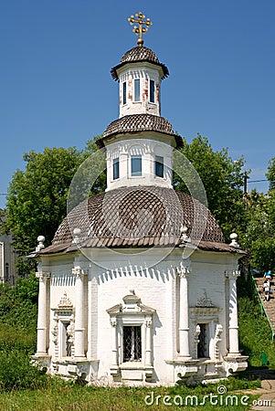 Orthodox chapel in Sergiev Posad, Russia