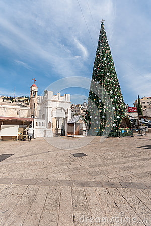 Free Orthodox Christmas In Nazareth Stock Photo - 37010310