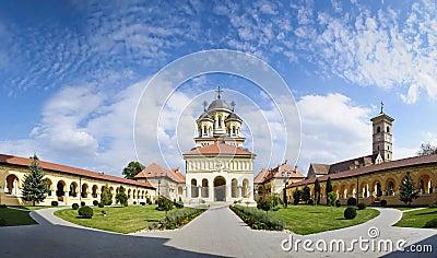 Orthodox church in alba iulia, Transylvania