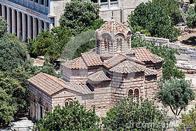 Orthodox Church Athens Greece