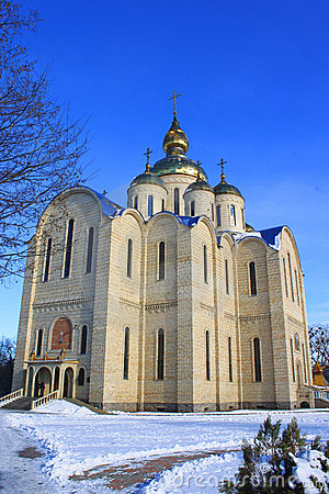 Orthodox church is built in 21 centuries.