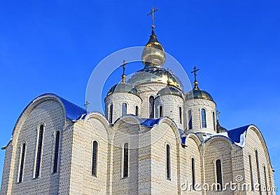 Orthodox church in Cherkassy, Ukraine.
