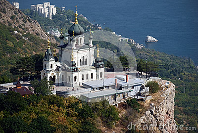 Orthodox church in Foros