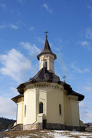Orthodox church in the the of Humor, next to Humor