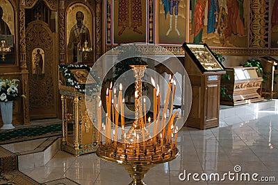 Orthodox church inside