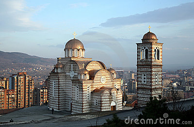 Orthodox church in Kosovo