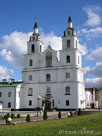 Orthodox church in Minsk