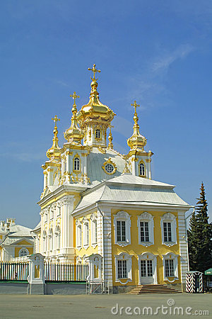 Orthodox church at Peterhof