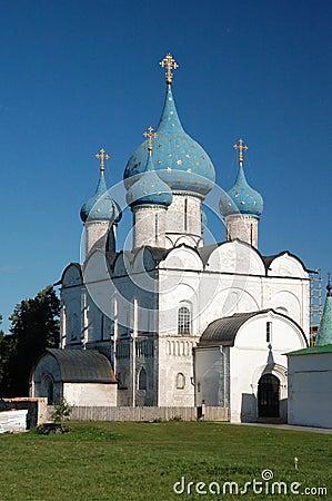 Orthodox church of a Russian