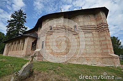 Orthodox church of Sf Nicolae, Balteni, Ilfov, Romania