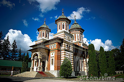 Orthodox Church in  Sinaia Romania