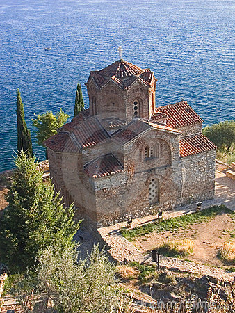 Orthodox church St. Kaneo, near the lake Ohrid