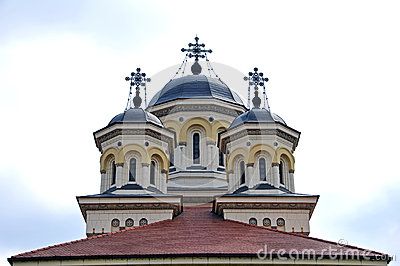Orthodox church towers