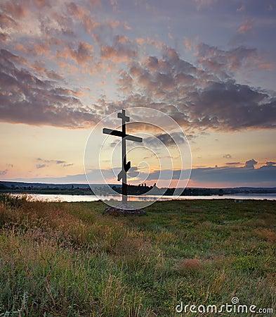 Free Orthodox Cross Royalty Free Stock Photos - 63747388