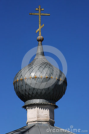 Orthodox Cross and a Dome