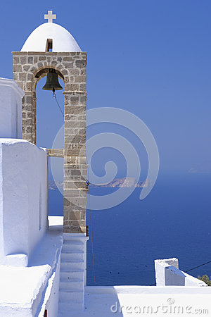 Free Orthodox Greek Church Bell Tower Stock Images - 34497944