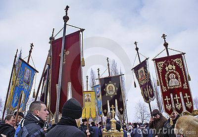 Orthodox holiday. Editorial Photo