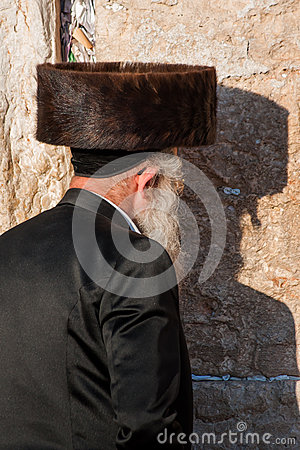Orthodox praying Editorial Photography
