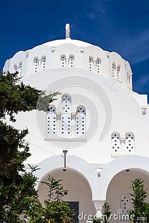 Orthodox Metropolitan Cathedral Fira Santorini Greece