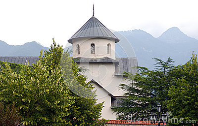 Orthodox monastery 13 century, Montenegro