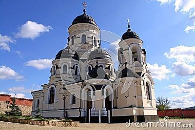 Orthodox Monastery Capriana in Moldova