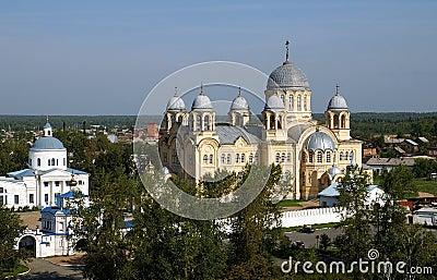 Orthodox monastery church