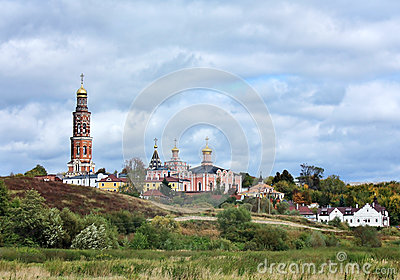 Orthodox monastery in Ryazan region