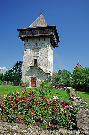 Orthodox monastery tower