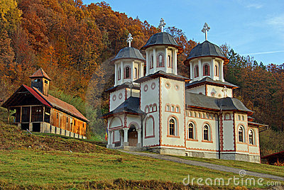 Orthodox monastery in transylvania