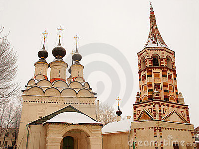 Orthodox Russia. Church and belltower