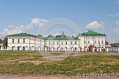 Orthodox school of St. John of Tobolsk. Tobolsk. Siberia. Russia Editorial Photo