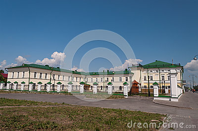 Orthodox school of St. John of Tobolsk. Tobolsk. Siberia. Russia Editorial Photography